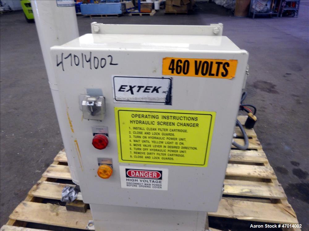 "Used- Entek 2-1/2"" Hydraulic Screen Changer, Model HSC-25M."