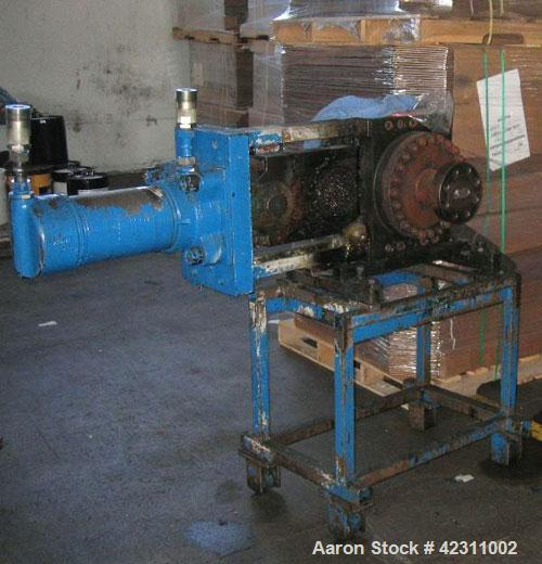Used- Ermafa 6'' Hydraulic Slide Plate Screen Changer