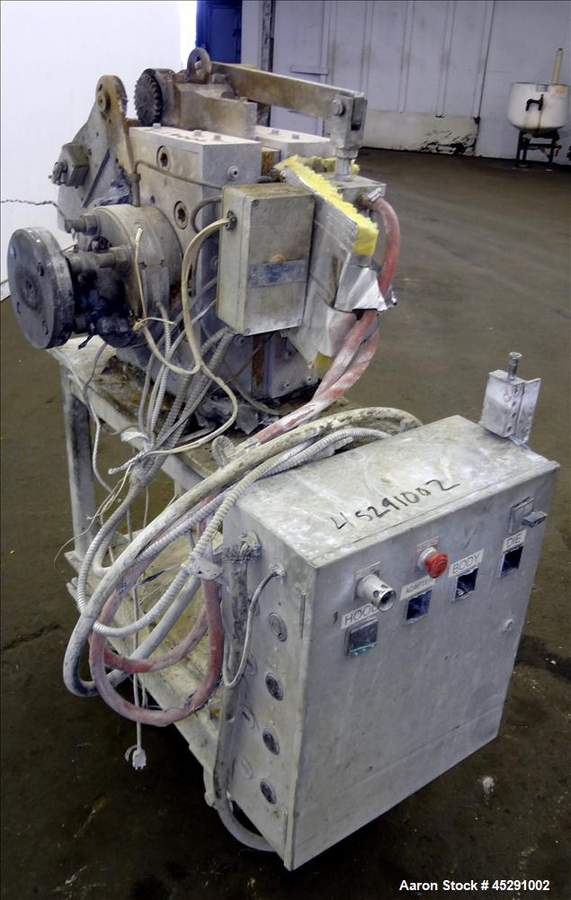 "Used- Patt 4"" Continuous Screen Changer Model PFSM 100L"