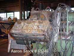 Used- Kreyenborg Screen Changer, Type K-SWE-121/S. Capacity of 50-925 lb/hour (250-420 kilo/hr). Working pressure 5250 psi (...