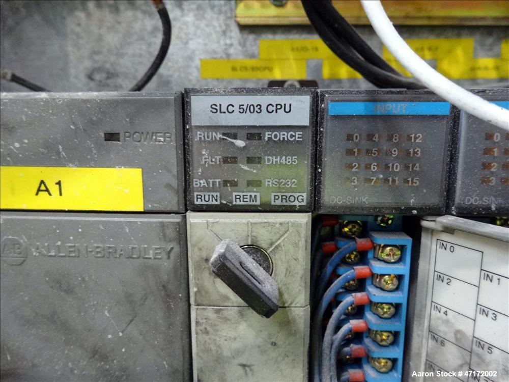 Used- Kreyenborg Back Flushing Hydraulic Screen Changer, Type LK-SWE-730.