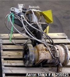 "Used- Beringer 4-1/2"" Hydraulic Screen Changer, Model CJB450"