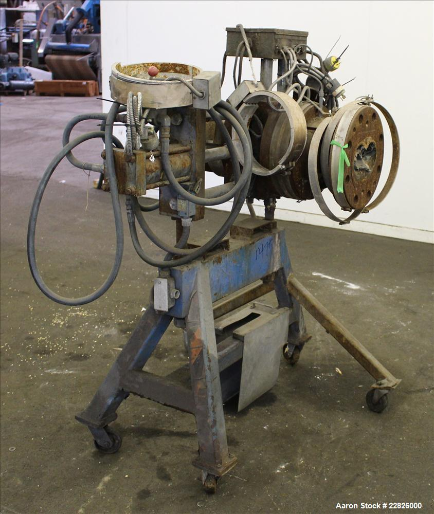 "Used- MGB 4-1/2"" Hydraulic Screen Changer, Model 4500"