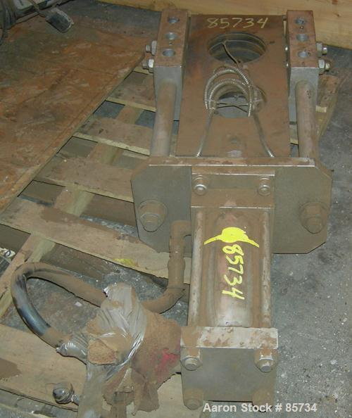 "USED: 6"" Hydraulic Screen Changer"