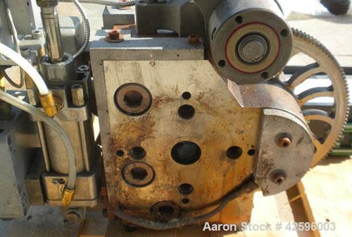 Used- Patt Filtration Rotary III Constant Pressure Continuous Screen Changer, Model RBP-50L HT. 240/480 Volt, 3.4 kW, maximu...