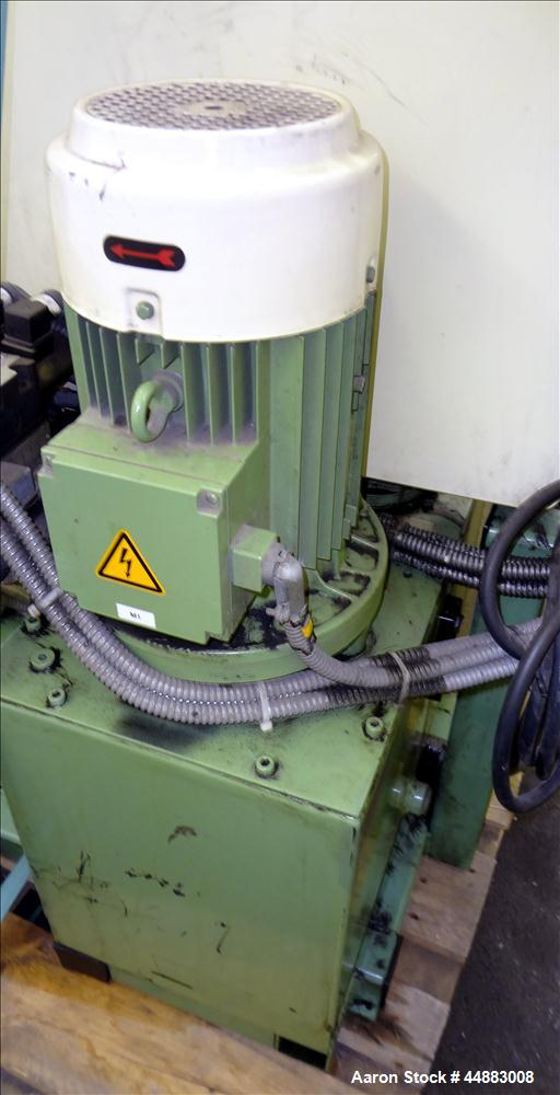 Used- Reproduc 75mm Hydraulic Screen Changer, Model PPS 08001
