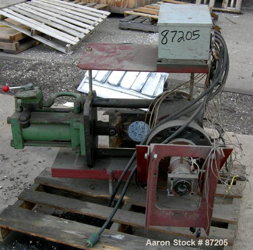 """USED- 4.5"""" Hydraulic Screen Changer"""