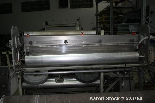 USED: Corona treatment system. 1400-1600 mm width Vetaphone Corona Plus system for plastic films and metallized foils. Coron...