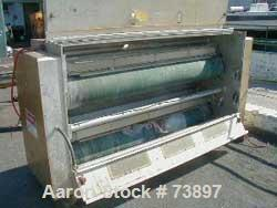 """USED:Solo 74"""" two side treater station with 9.5"""" diameter ceramictreater rolls, 70"""" wide segmented electrode bar with 1"""" fin..."""