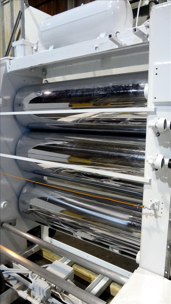 Used- Welex 3 Roll Sheet Stack, Model 18X53SLRH