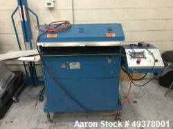 "Used- Rosenthal Manufacturing Sheetmaster Sheeter, Model SM-30. Approximate 30"" wide capacity. Up to 75 sheets per minute, u..."