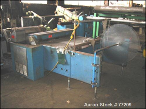 Used- Rosenthal Sheeter, Model WA-5-4-HUCOCV