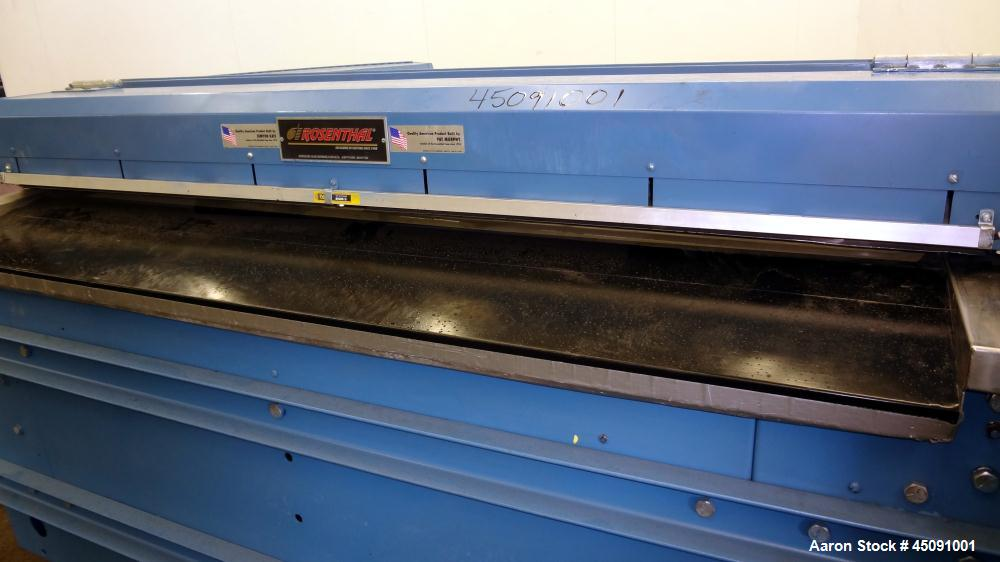 Used- Rosenthal Manufacturing 45 Degree Sheeter, Model WA-AC-2-5UBEAA-24