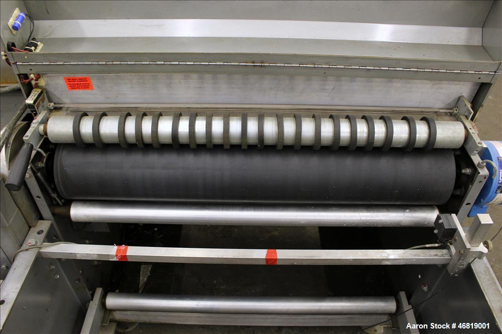 Used- Rosenthal Wrap-O-Matic Sheeter, Model WA-S-3-UBTEVAA.