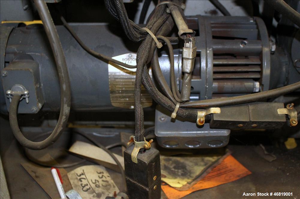 Used- Rosenthal Wrap-O-Matic Sheeter, Model WA-S-3-UBTEVAA.