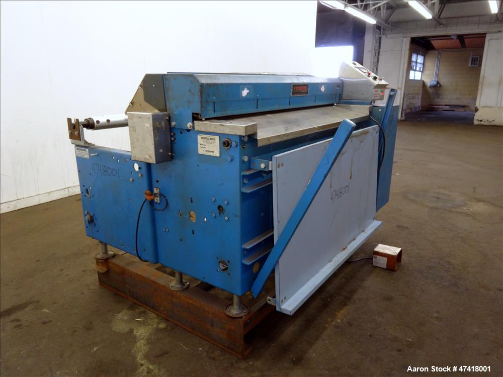 Used- Rosenthal Manufacturing Sheeter, Model WA-S-4-HUBTEAAA-12.