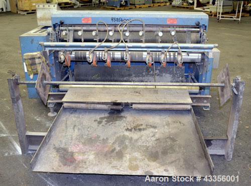 Used- Rosenthal Manufacturing Sheeter, Model WA-S-5-H1SHEVAA