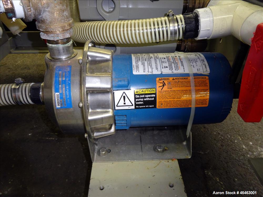 Used- Coniar Model MT104-10-3 Vacuum Sizing Tank