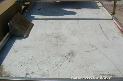 "USED- Royal Machine Vacuum Calibration Table, Model 004, Consisting Of (1) 42"" wide x 69"" long vacuum table section; (1) sta..."