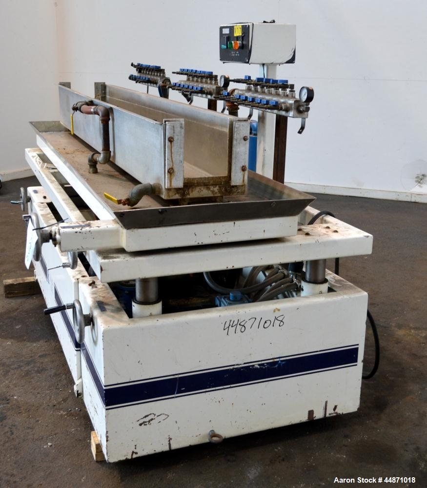 Used- Young Plastic Tooling & Machinery Vacuum Calibration Table, Model VT-96