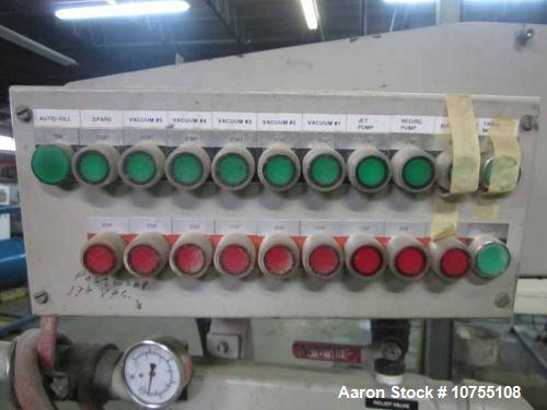 Used- CDS Model CVC22-575, 4 compartment vacuum tank