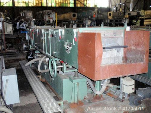 Used- Stainless Steel Conair Metaplast Vacuum Sizer/Cooling Tank, Model MV53-14-
