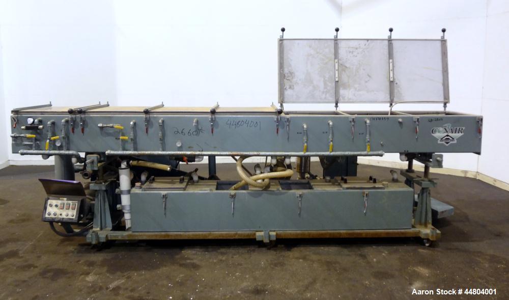 Used- Conair Metaplast Vacuum Sizing Tank, Model MVS3-SP-L-R