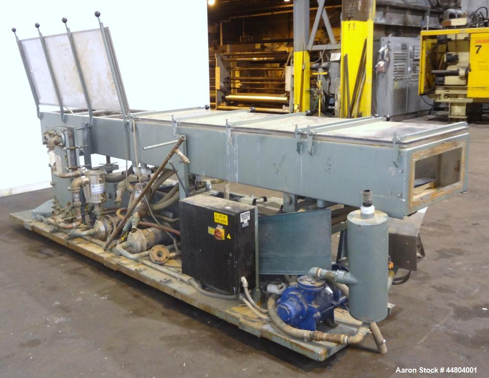 Used- Conair Metaplast Vacuum Sizing Tank, Model MVS3-SP-L-R