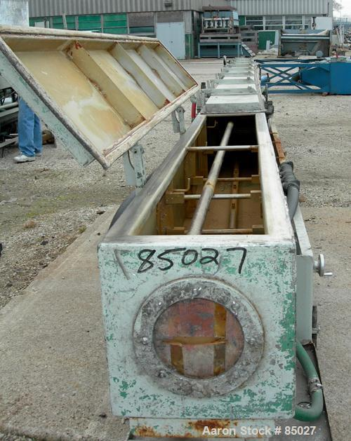 Used- Stainless SteelRDN Vacuum Sizing Tank, Model 4D-3V-2T-30