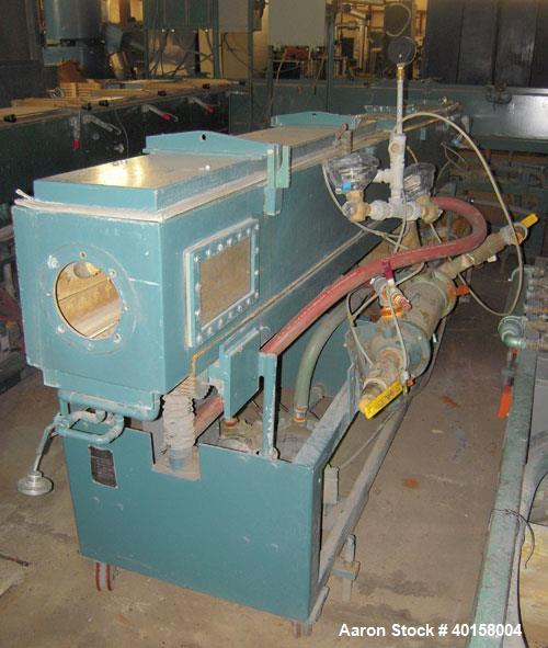 Used- Stainless Steel RDN Vacuum Sizing Tank, model 4D1V2T12