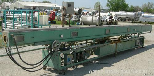 Used- Stainless Steel RDN Vacuum Sizing Tank, Model 4D3V2T30