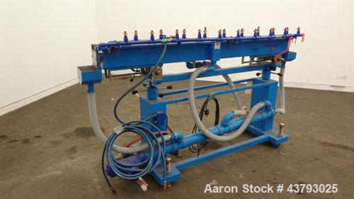 """Used- CDS Custom Downstream Systems Water Table, Model CWT-6-6.  6"""" Wide x 72"""" long x 6"""" deep.  Very little use."""