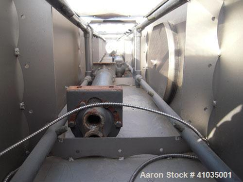 "Used- Conair Spray Cooling Tank, Model WCB-16-8, 304 Stainless Steel. 16"" wide x 192"" long x 16"" deep. 3 piece top cover, (4..."