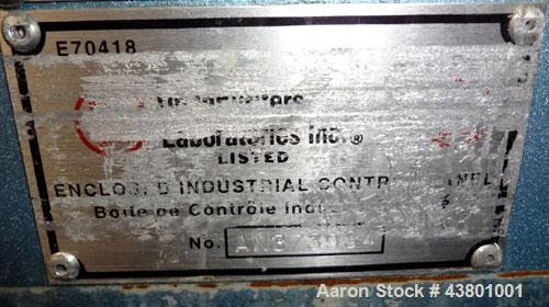 "Unused- Davis Standard Spray Tunnel, Model 18-18-20, 304 Stainless Steel. Approximately 18-3/4"" wide x 18"" deep x 252"" long...."