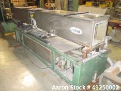 Used-Conair Water Cooling Tank, Model MCB-12-8 12', 304 stainless steel. Includes tank, pumps and heat exchanger. Mounted on...