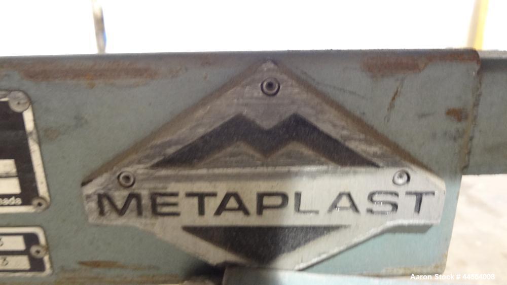 Used- Metaplast Cooling Tank, Model MSB 16-6