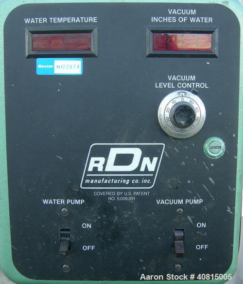 "Used-  RDN Vacuum Sizing Tank, Model 20 P.V.S., 304 Stainless Steel.  6 1/2"" wide x 6"" deep x 96"" long.  (1) 75"" long sectio..."