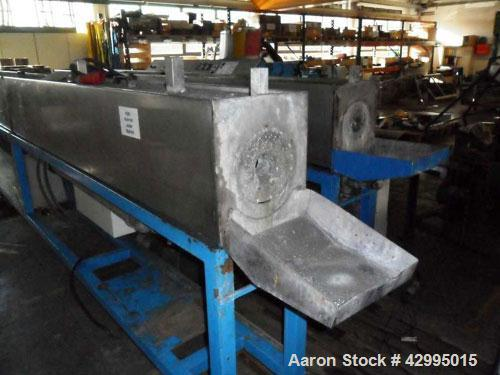 """Used-Unicor Cooling Spray Bath for pipes up to 2.36"""" (60 mm) diameter.  Length 13 feet (4000 mm)."""