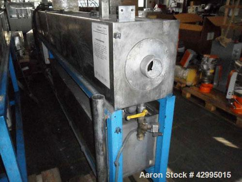 "Used-Unicor Cooling Spray Bath for pipes up to 2.36"" (60 mm) diameter.  Length 13 feet (4000 mm)."