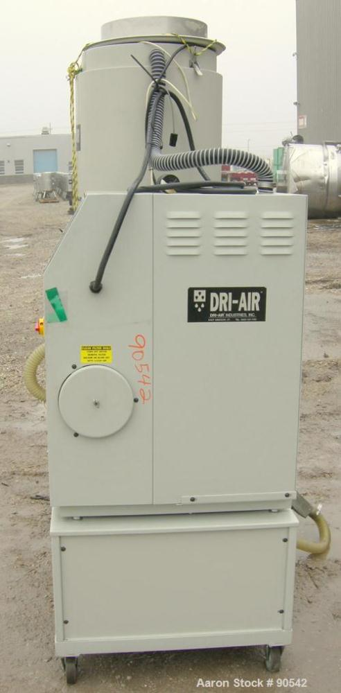 USED: Dri-Air dehumidifying dryer, model APD-8.  Single bed, 2 zone.  3/60/480 Volt, 20 Amps.  Unit includes a 300 lb insula...