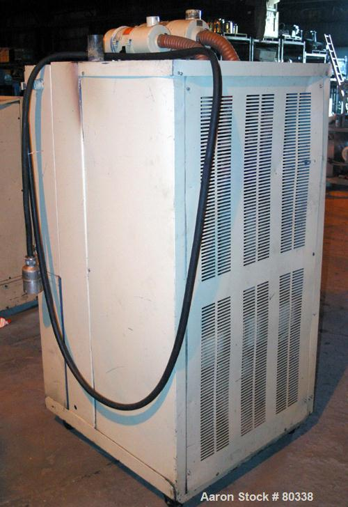 USED: AEC Whitlock WD series cabinet dryer, model WD150Q. 3/60/460 volt, 150 cfm process air flow, 160-400 deg F temperature...