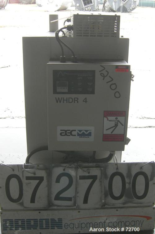 USED: AEC Whitlock WD Series dehumidifying dryer, model WD50FR. 3/60/460 volt, 50 cfm process air flow, 19 full load amps, 3...