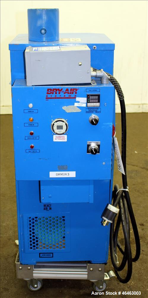 Used- Bry-Air Systems RD Series Resin Desiccant Dryer, Model RD-50