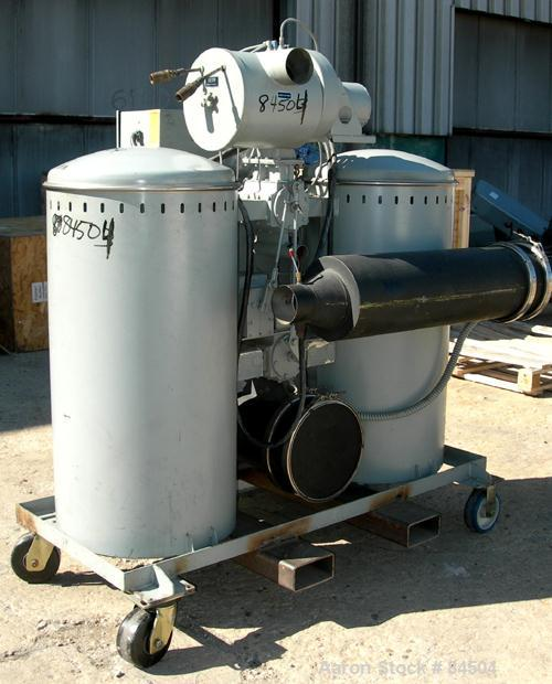 Used- Cincinnati Milacron Solid Bed Style Dryer, Model CDD-200. (2) Desiccant beds. Temperature range approximately 170 to 2...