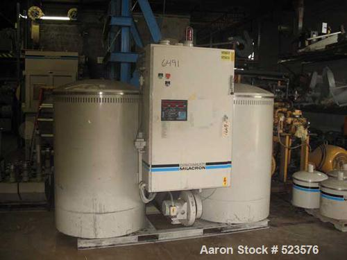 USED: Cincinnati Milacron model CCD2700 dual solid bed desiccantdryer. 1993 model year. 1500 process crm, 460/3/60 operation...
