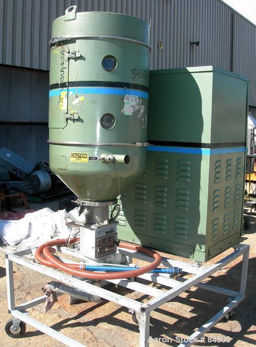 USED: Cincinnati Milacron Dryer, model DD-100. Temp range approximately 170 to 250 deg F. Air flow approximately 75 cfm. 3/6...