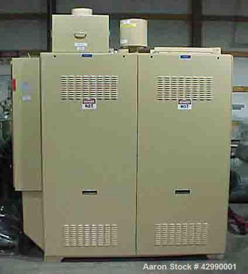 Used-Conair Dryer, Model DC-1000. Fines trap hose and dryer piping, D-1000 return air heat exchanger, (4) extra desiccant ta...