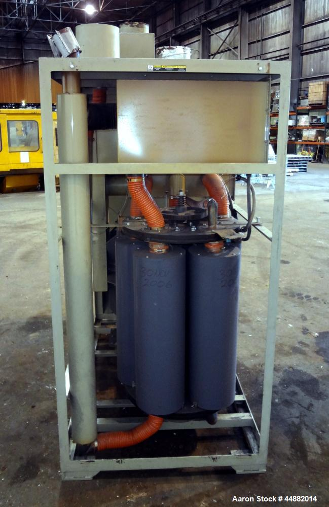 Used- Carbon Steel Conair Carousel Dehumidifying Dryer, Model CD1000