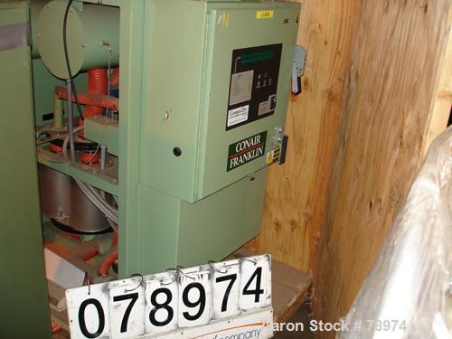 USED: Conair/Franklin model CD300 200 cfm dehumidifying dryer. Compu-Dry microprocessor controls, 480/3/60 control circuit, ...