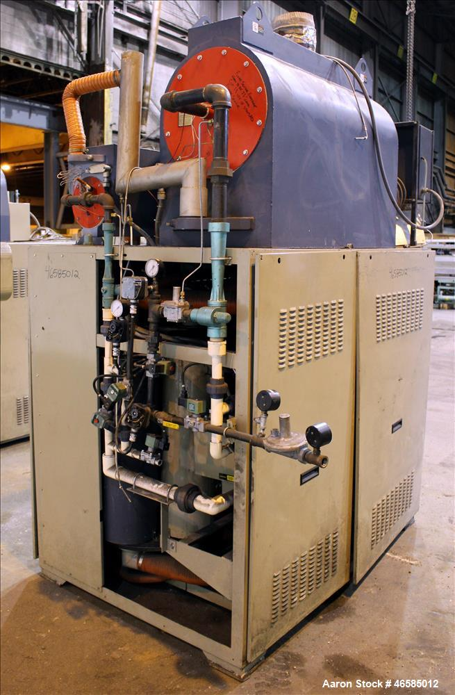 Used- Conair Carousel Dehumidifying Dryer, Gas Heated, Model CDG1000, Carbon Steel. Approximate 925 CFM, drying temperature ...